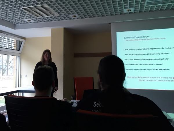 Anja Steffensen Vortrag