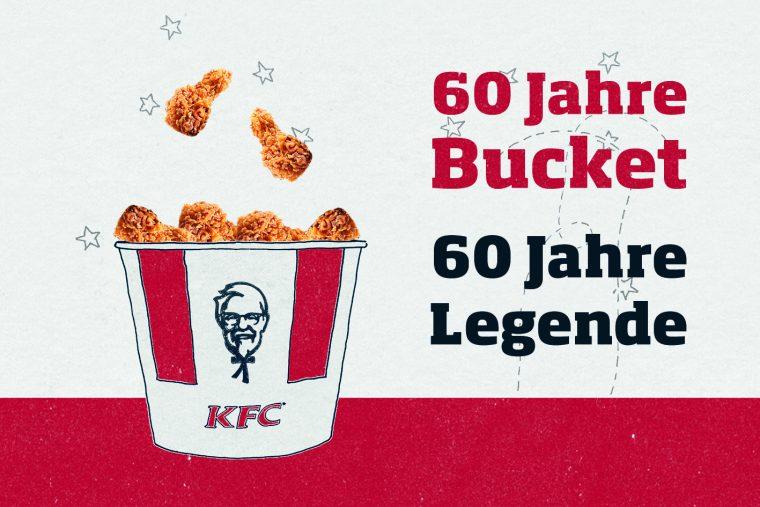 KFC Bucket Geburtstag