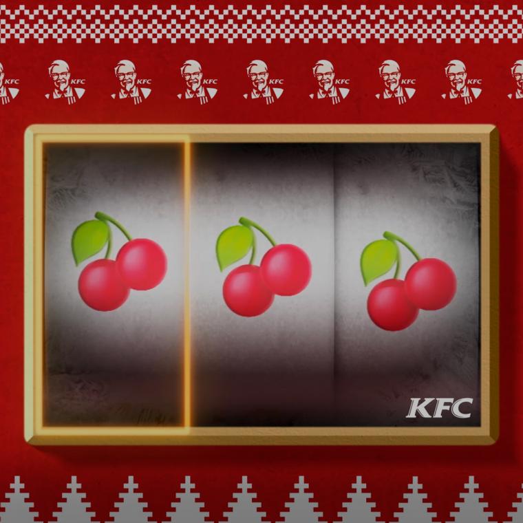 KFC Instagram Gaming Weihnachten